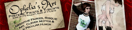 Ophelia's Art & T-shirt Shop